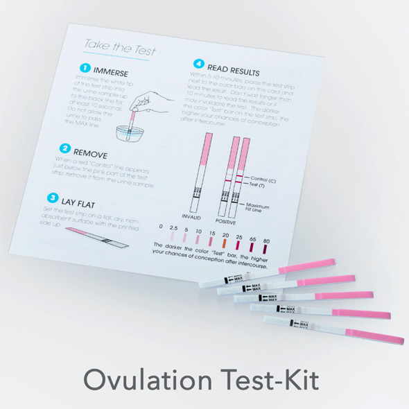 Nouriche Fertility Test Kit
